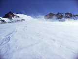 Wind Blowing Snow, Greenland, Polar Regions Photographic Print by Jack Jackson