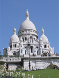 Basilique Du Sacre Coeur, Montmartre, Paris, France Photographic Print by Hans Peter Merten