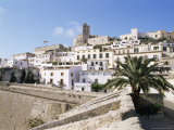 Dalt Vila, Eivissa, Ibiza, Balearic Islands, Spain, Mediterranean Photographic Print by Hans Peter Merten