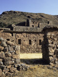 Seven Huts Area, Qanchisaracay, Inca Site in the Urubamba Valley, Peru, South America Photographic Print by Christopher Rennie