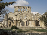 Basilica of St. Simeon, Qalaat Samaan, Syria, Middle East Photographic Print by David Poole