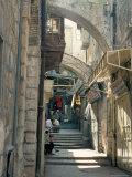Via Dolorosa, Old City, Unesco World Heritage Site, Jerusalem, Israel, Middle East Photographic Print by Jack Jackson