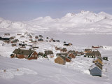 Angmagssalik (Ammassalik), Greenland, Polar Regions Photographic Print by Jack Jackson