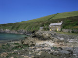 Port Quin, Near Polzeath, Cornwall, England, United Kingdom Photographic Print by Lee Frost