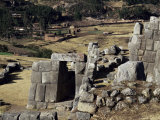View from the Walls, Inca Fortress, Sacsayhuaman, Cuzco, Peru, South America Photographic Print by Christopher Rennie
