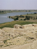 Mari and the Euphrates River, Syria, Middle East Photographic Print by Michael Jenner