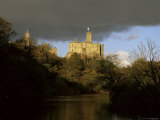 Warkworth Castle and River Coquet, Near Amble, Northumberland, England, United Kingdom Photographic Print by Lee Frost