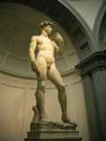 Michelangelo&#39;s Statue of David, Florence, Tuscany, Italy Photographie par Michael Jenner