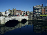 River Liffey and O'Connell Bridge, Dublin, Eire (Republic of Ireland) Photographic Print by Hans Peter Merten