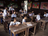 Primary School, Bangkok, Thailand, Southeast Asia Photographie par Michael Jenner