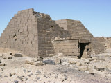 Pyramid, Meroe, Sudan, Africa Photographic Print by Jack Jackson