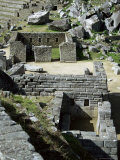 Principal Temple, Inca Site, Machu Picchu, Unesco World Heritage Site, Peru, South America Photographic Print by Christopher Rennie