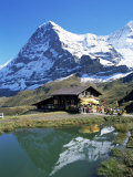 The Eiger, Kleine Scheidegg, Bernese Oberland, Swiss Alps, Switzerland Photographic Print by Hans Peter Merten