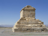 Achaemenian Tomb of Cyrus II, 559-530 Bc, on Murghab Plain, Pasargadae Photographic Print by Christopher Rennie