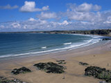 The Main Beach, Newquay, Cornwall, England, United Kingdom Photographic Print by Julian Pottage