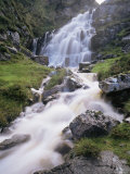 Waterfall Near Uig, Isle of Lewis, Outer Hebrides, Scotland, United Kingdom Photographic Print by Lee Frost