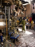 Handicraft Souk, Marrakech, Morocco, North Africa, Africa Photographic Print by Michael Jenner