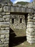 Royal Sector, Inca Site, Machu Picchu, Unesco World Heritage Site, Peru, South America Photographic Print by Christopher Rennie