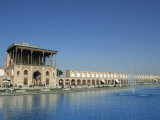 Ali Qapu Palace on Imam Square, Isfahan, Iran, Middle East Photographic Print by Christopher Rennie