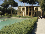 Safavid Garden Palace of Hasht Behesht (The Eight Paradises), Isfahan, Iran, Middle East Photographic Print by David Poole