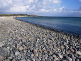 Pebble Beach Near Kildalton, Isle of Islay, Strathclyde, Scotland, United Kingdom Photographie par Michael Jenner