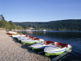 Lake Titisee, Black Forest, Baden-Wurttemburg, Germany Photographic Print by Hans Peter Merten