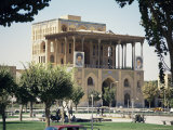 Palace of Ali Ghapu, Esfahan, Iran, Middle East Photographic Print by David Poole