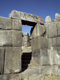 Reconstructed Doorway, Inca Fortress, Sacsayhuaman, Cuzco, Peru, South America Photographic Print by Christopher Rennie