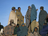 Local People, Debirichwa Village, Simien Mountains National Park, Ethiopia, Africa Photographic Print by David Poole