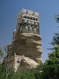 Yahyas Old Summer Palace, Dar Al Hajjar, Wadi Dhar, Yemen, Middle East Photographic Print by Jack Jackson