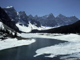Lake Morraine, Banff National Park, Unesco World Heritage Site, Alberta, Rockies, Canada Photographic Print by Julian Pottage