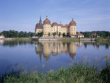 Moritzburg Castle, Near Dresden, Sachsen, Germany Photographic Print by Hans Peter Merten