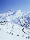 Passo Di Falzarego, Trentino-Alto Adige, Dolomites, Italy Photographic Print by Hans Peter Merten