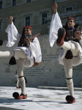 Republican Guard, Parliament, Syntagma, Athens, Greece Photographic Print by Christopher Rennie
