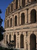 Roman Amphitheatre, El Djem, Unesco World Heritage Site, Tunisia, North Africa, Africa Photographic Print by David Poole