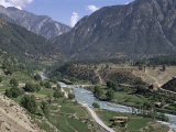 Village of Kacak, Northern Swat Valley, Pakistan Photographic Print by Jack Jackson