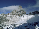 South East Face, Mount Kenya, Unesco World Heritage Site, Kenya, East Africa, Africa Photographic Print by Jack Jackson