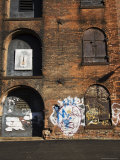 Derelict Warehouses in the Dumbo Neighbourhood, Brooklyn, New York City, USA Photographic Print by Amanda Hall