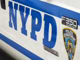 Nypd Police Car, Manhattan, New York City, New York, USA Photographic Print by Amanda Hall