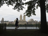 Jogger, Central Park, Manhattan, New York City, New York, USA Photographic Print by Amanda Hall