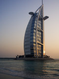 Burj Al Arab Hotel, Dubai, United Arab Emirates, Middle East Photographic Print by Amanda Hall