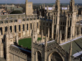 All Souls College and Quadrangle, Oxford, Oxfordshire, England, United Kingdom Photographic Print by Duncan Maxwell