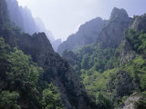 Peaks and High Valleys on the Side of the Cares Gorge, Picos De Europa, Cantabria, Spain Photographic Print by Duncan Maxwell