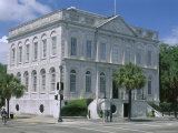 Charleston City Hall Dating from 1801 in Historic Centre, Charleston, South Carolina, North America Photographic Print by Duncan Maxwell