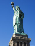 Statue of Liberty, Liberty Island, New York City, New York, USA Photographic Print by Amanda Hall