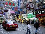 Causeway Bay, Hong Kong Island, Hong Kong, China Photographic Print by Amanda Hall