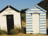 Old Beach Huts, Southwold, Suffolk, England, United Kingdom Photographie par Amanda Hall