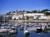 Harbour, Torquay, Devon, England, United Kingdom Photographic Print by J Lightfoot