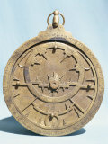 Arabic Brass Astrolabe Dating from 16th Century, Damascus Museum, Syria, Middle East Photographic Print by Ursula Gahwiler