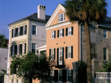 Early 19th Century Town Houses, Historic Centre, Charleston, South Carolina, USA Photographic Print by Duncan Maxwell
